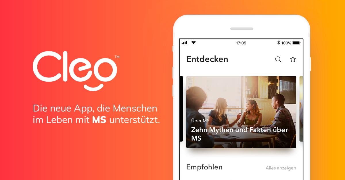 Cleo, die neue App, die Menschen im Leben mit MS unterstützt ...